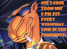 Joe's Cool Zoom Mic (Wednesday & Friday)
