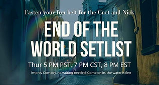 End of the World Setlist