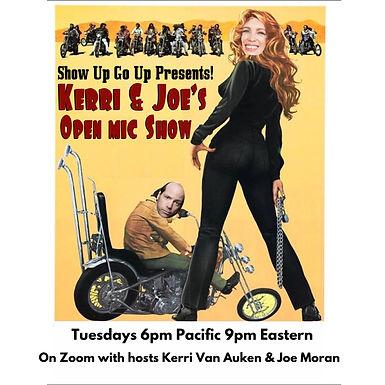 Kerri & Joe's Open Mic Show