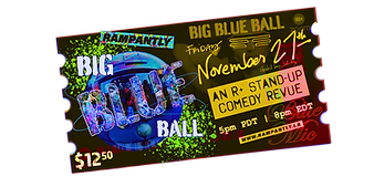 BBB3 Ticket Big Blue Ball #3
