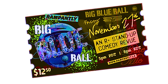 BBB3 Ticket Big Blue Ball #3