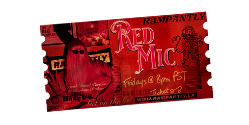 $5.50 | FRIDAY - 12/11/20 | 8PM PST | 10PM CST | 11PM EST LIVE Sunburnt Stand-Up Comedy Open Mic Hosted by David Parsons & Charlotte Parker