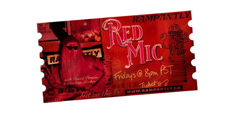 $5.50 | FRIDAY - 1/8/20 | 8PM PST | 10PM CST | 11PM EST LIVE Sunburnt Stand-Up Comedy Open Mic Hosted by David Parsons & Charlotte Parker