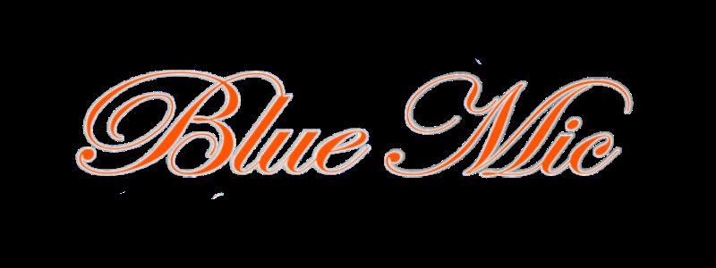 blue mic long button logo spring 2021 Rampantly everywhere Virtual Comedy Machine www.ramp