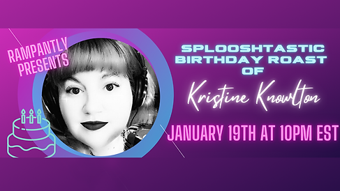 $5.50 | TUESDAY - 1/19/21 | 7PM PST | 10PM EST Hosted by Joli Rx with Kristine Knowlton