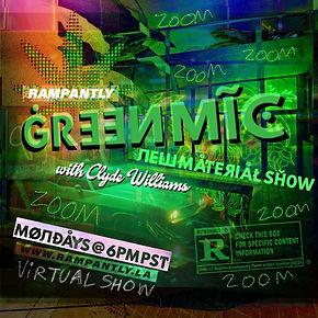 Green Mic Square Promo