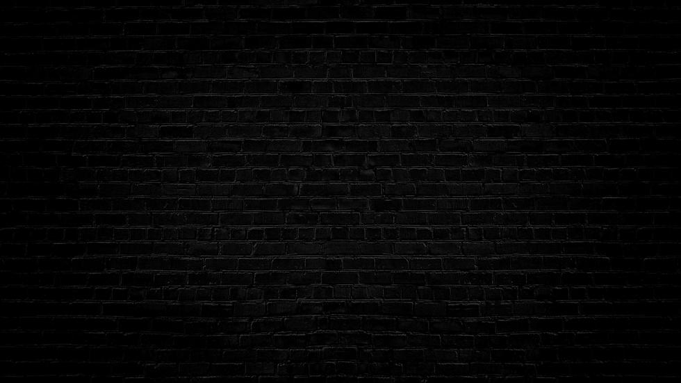 New Black Brick Background