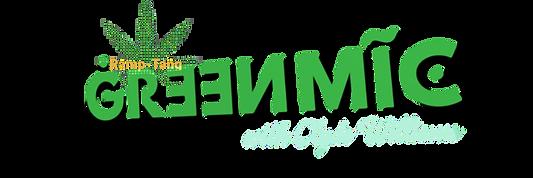 Green Mic Long Logo Fall 2021 Rampantly Comedy Ramp-Tang Clyde Williams.PNG