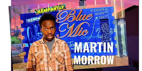 $5.50 | TUESDAY - 1/12/21 | 7PM PST | 10PM EST Hosted by Joli Rx with LA Comedian Martin Mandela Morrow