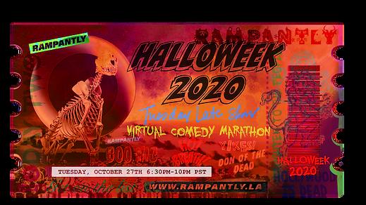 Halloweek 2020 Tuesday Late Show Ticket