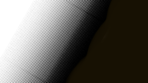 half tone rasterized gradient polka dots