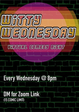 Witty Wednesday Open Mic