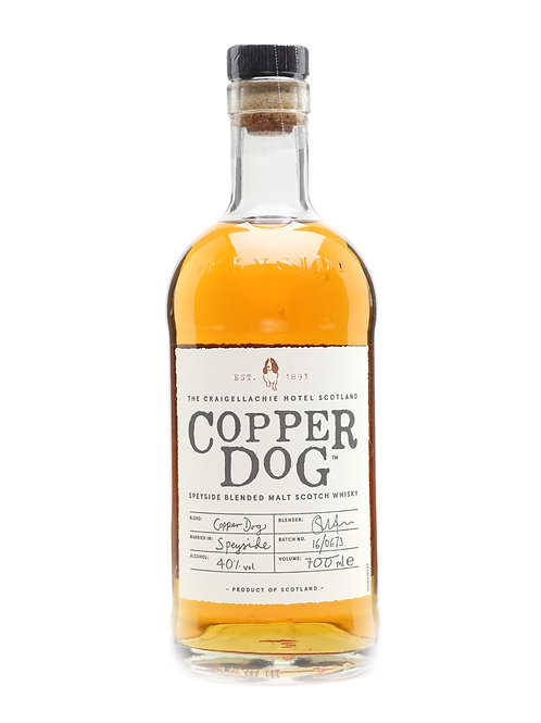 Copper Dog Whisky 70cl (v7750)