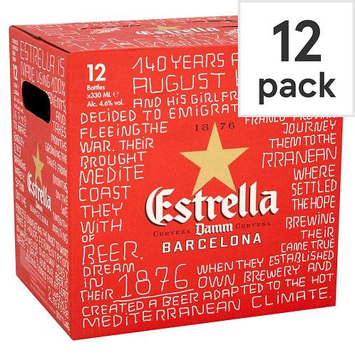 Estrella bottles 12x330ml
