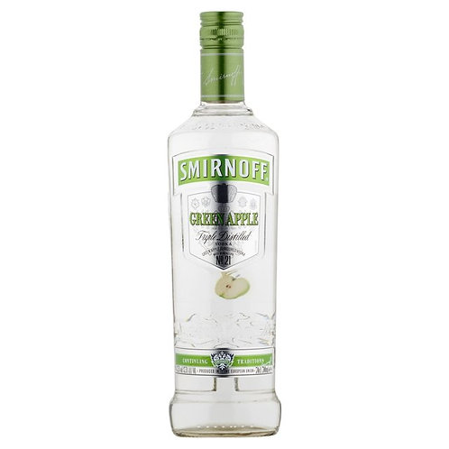 Smirnoff Green Apple Vodka 70cl (2490)