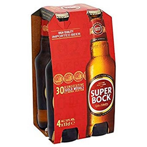 Super Bock bottles 4x33cl