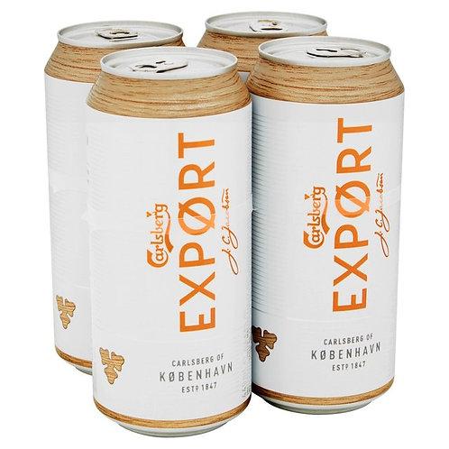 Carlsberg Export Cans 4x500ml