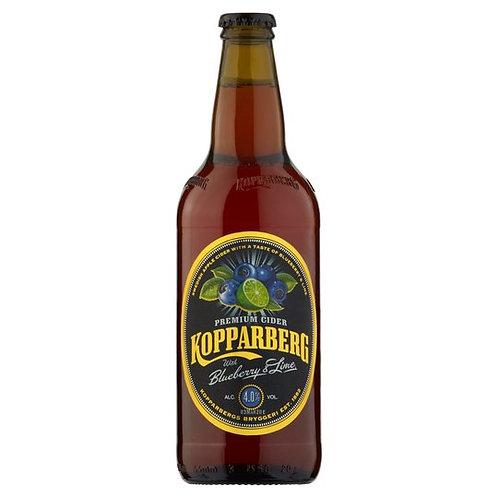 Kopparberg Blueberry & Lime bottle 500ml