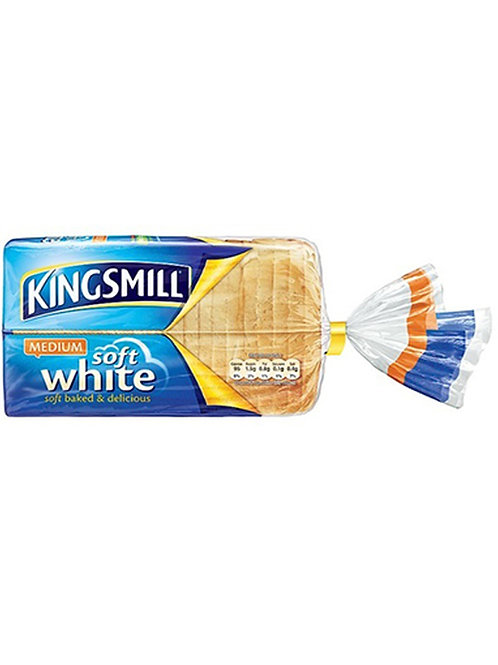 Kingsmill Soft White Medium Bread 750g