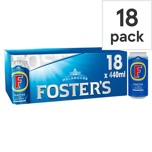 Fosters Cans 18x440ml