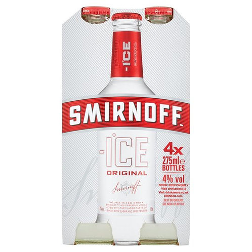 Smirnoff Ice 4x275ml