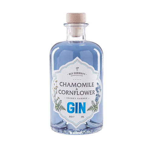 Old Curiosity Gin Chamomile & Cornflower 50cl (v8356)