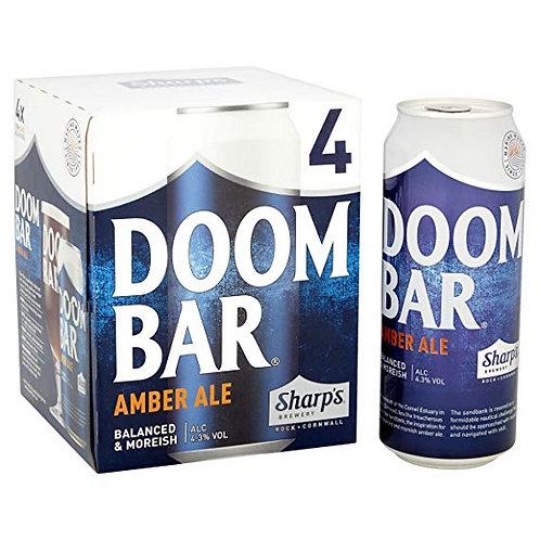 Doom Bar Amber Ale Cans 4x440ml