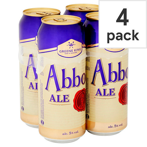 Abbot Ale Cans 4x500ml