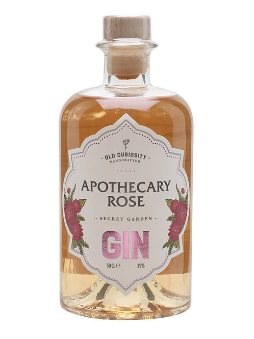Old Curiosity Gin Apothecary Rose 50cl (v8354)