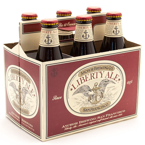 Anchor Liberty Ale bottles 6x355ml