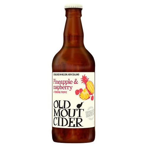 Old Mout Cider Pineapple & Raspberry 500ml