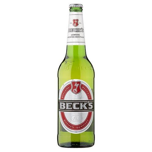 Becks bottle 660ml