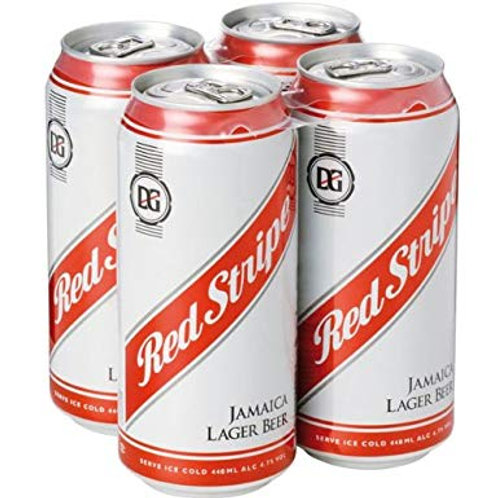Red Stripe Cans 4x440ml
