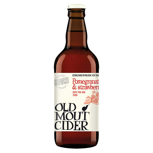 Old Mout Cider Stawberry & Pomegranate 500ml