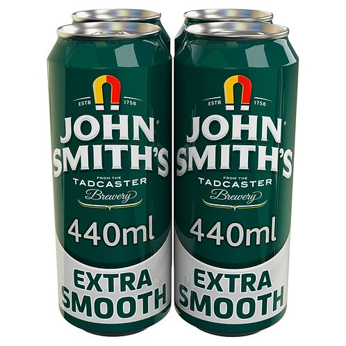John Smith Extra Smooth Cans 4x440ml
