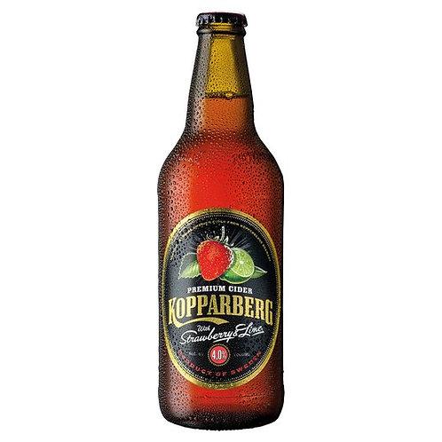 Kopparberg Strawberry & Lime bottle 500ml