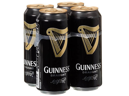 Guiness Draught Cans 4x440ml