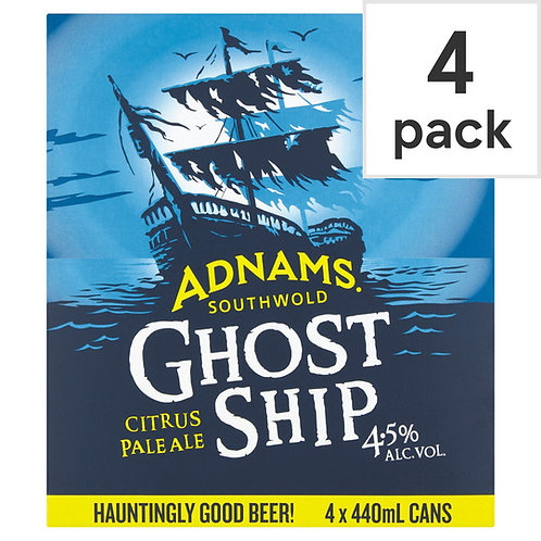 Adnams Ghost Ship Pale Ale Cans 4x440ml