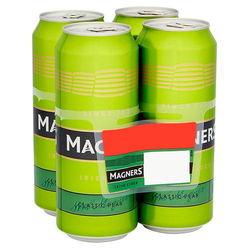 Magners Pear Cans 4x500ml
