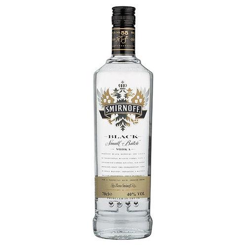 Smirnoff Black Vodka 70cl (100875)