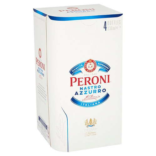 Peroni bottles 4x33cl