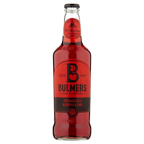 Brothers Crushed Red Berries & Lime Cider 500ml
