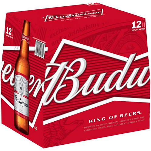Budweiser bottles 12x300ml