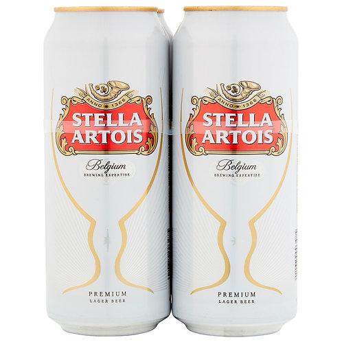Stella Artois Cans 4x440ml