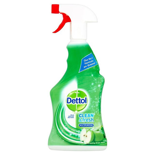 Dettol Power & Fresh Apple disinfectant spray 500ml