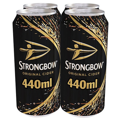 Strongbow Original Cans 4x440ml