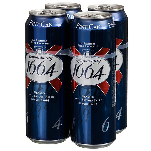 Kronenbourg Pint Cans 4x568ml