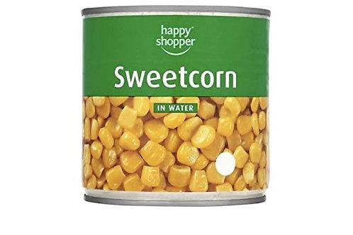 Happy Shopper Sweetcorn in Water 340g