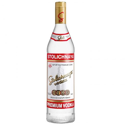 Stolichnaya Red Vodka 70cl