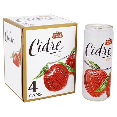 Stella Cidre Original Cans 4x440ml